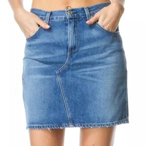 Rag & Bone | Distressed Denim Skirt | Size 26